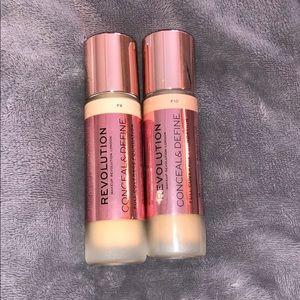 BRAND NEW makeup revolution foundation
